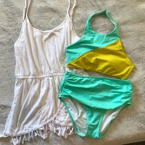 Bathing Suit and Cover Up Bundle